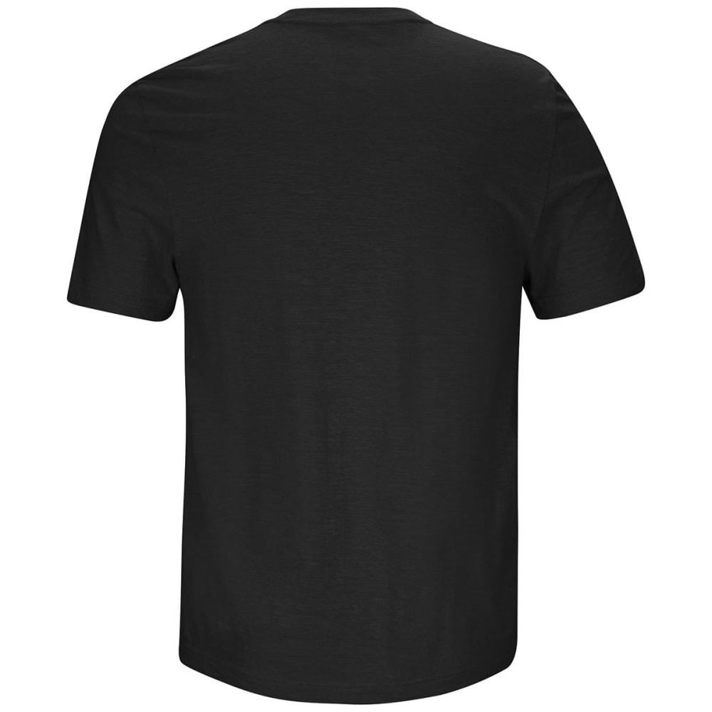 PITTSBURGH STEELERS Men's Line of Scrimmage Short-Sleeve Tee - BLACK