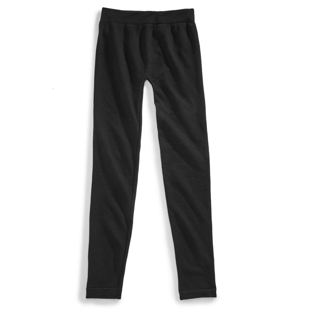 POOF Juniors' Seamless Fit Leggings - BLACK