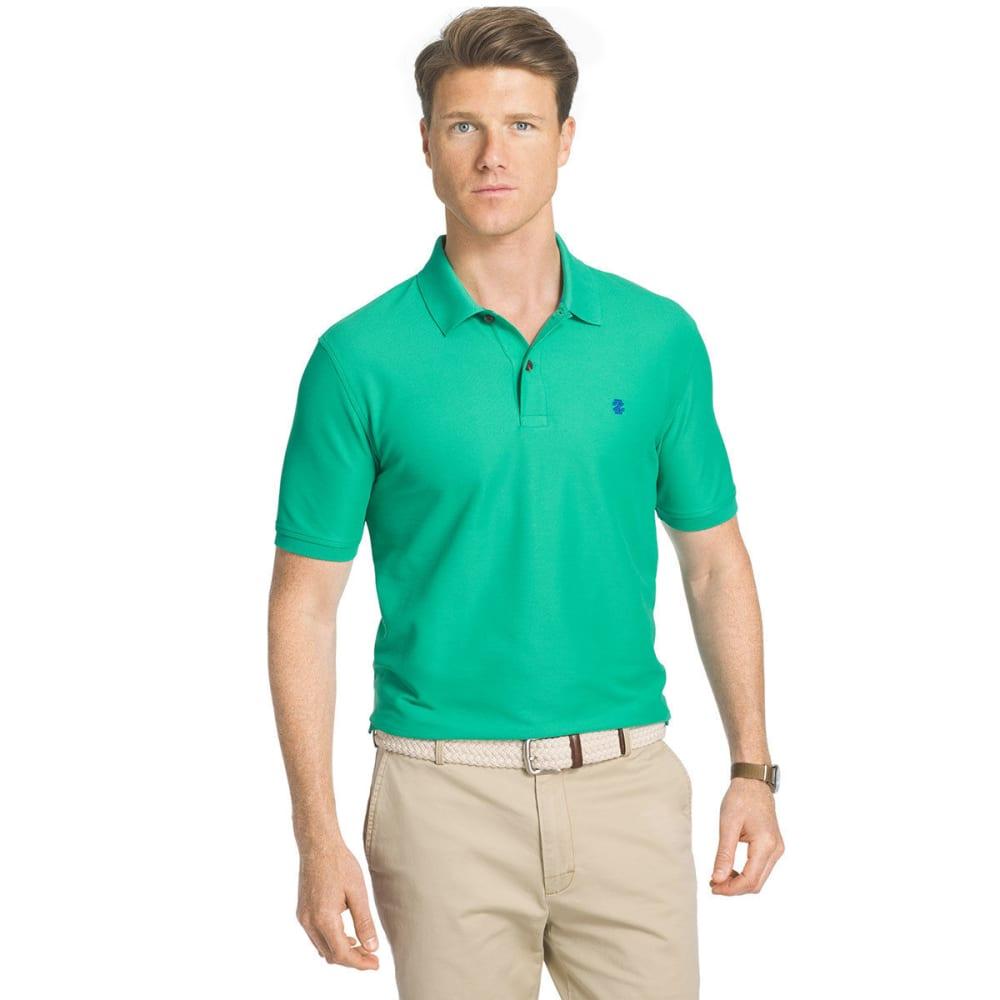 IZOD Men's Advantage Performance Polo Shirt - SIMPLY GREEN-321