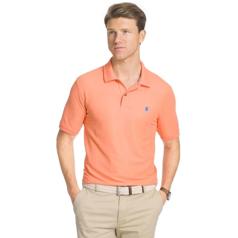 IZOD Men's Advantage Performance Polo Shirt - SOUR ORANGE-805
