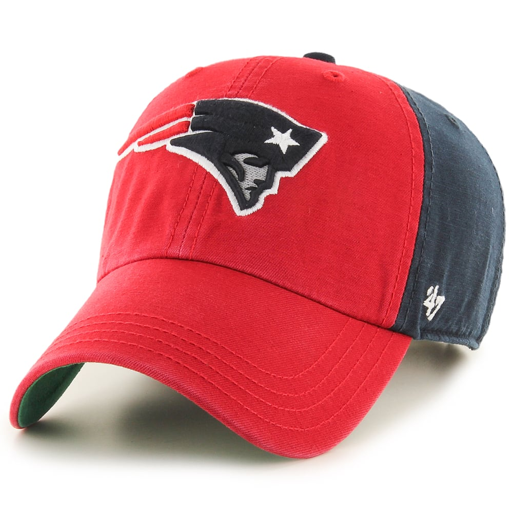 New England Patriots Men's Flagstaff '47 Clean Up Cap - Red, ONESIZE