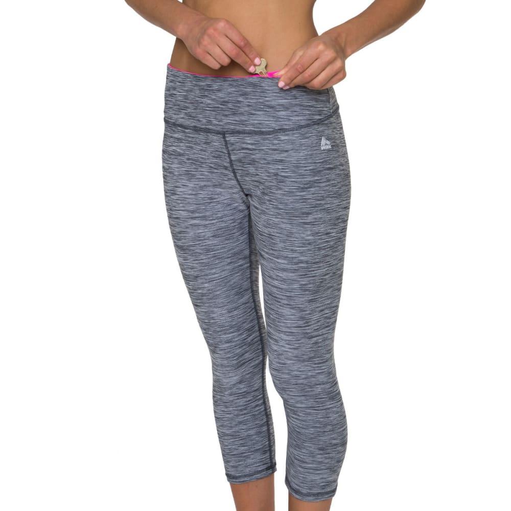 RBX Women's Striated Leggings, 21 IN. - GREY-E