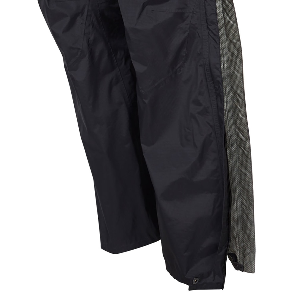 EMS Men's Thunderhead Full-Zip Rain Pants - BLACK