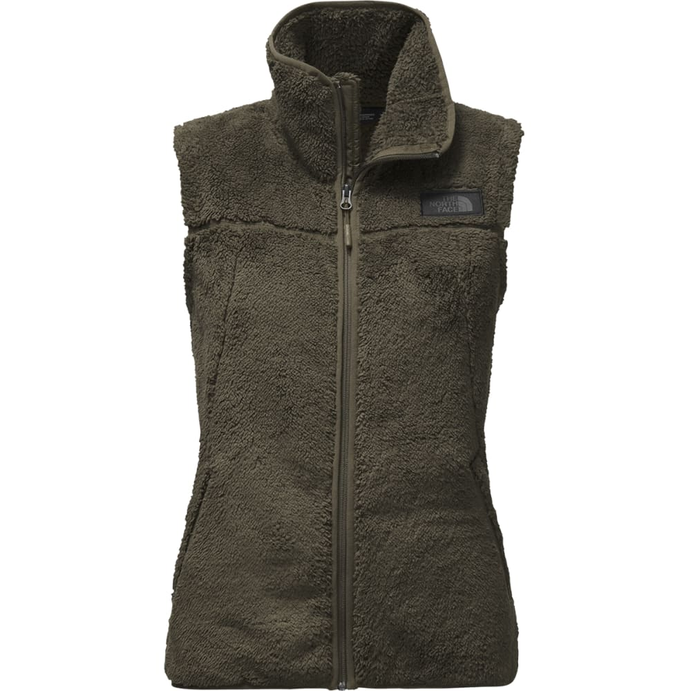 THE NORTH FACE Women's Campshire Fleece Vest - 21L-NEW TAUPE GRN