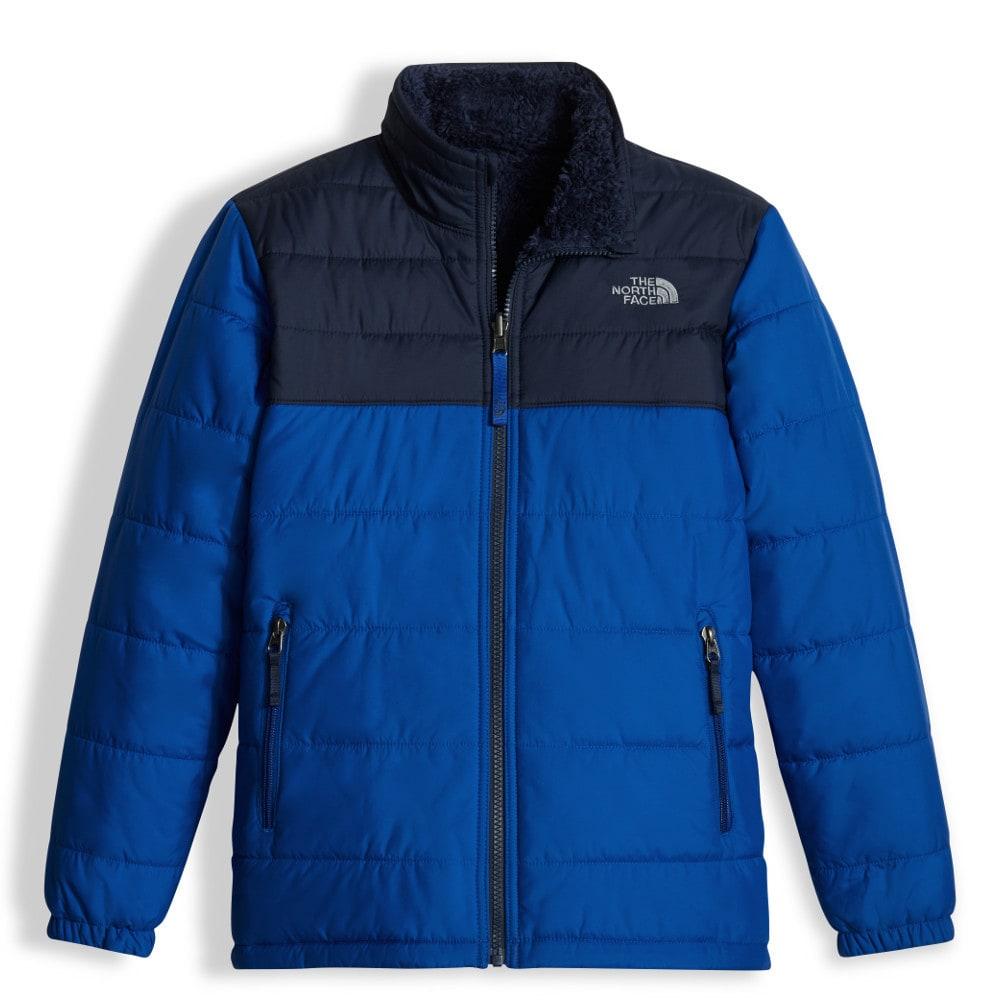 The North Face Boy's Reversible Mount Chimborazo Jacket - Blue, M