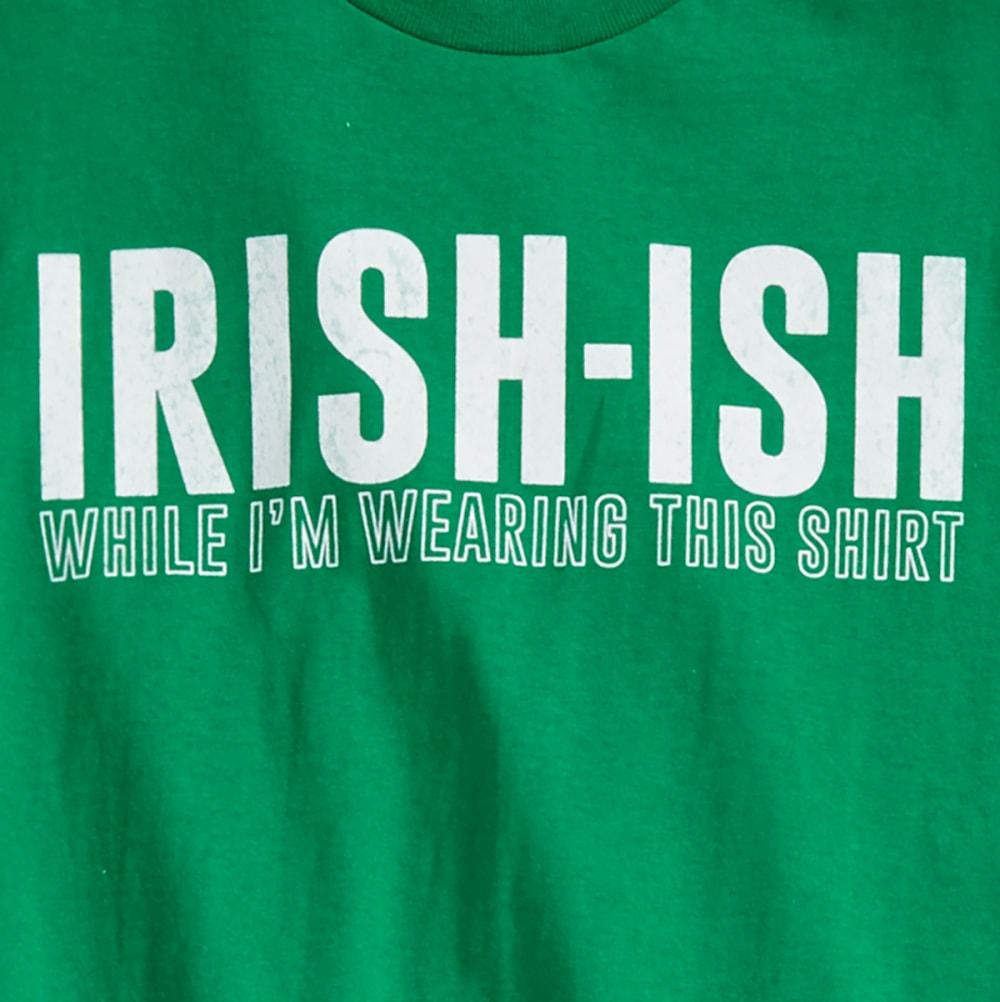TEE LUV Guys' Irish-Ish Short-Sleeve Tee - GREEN