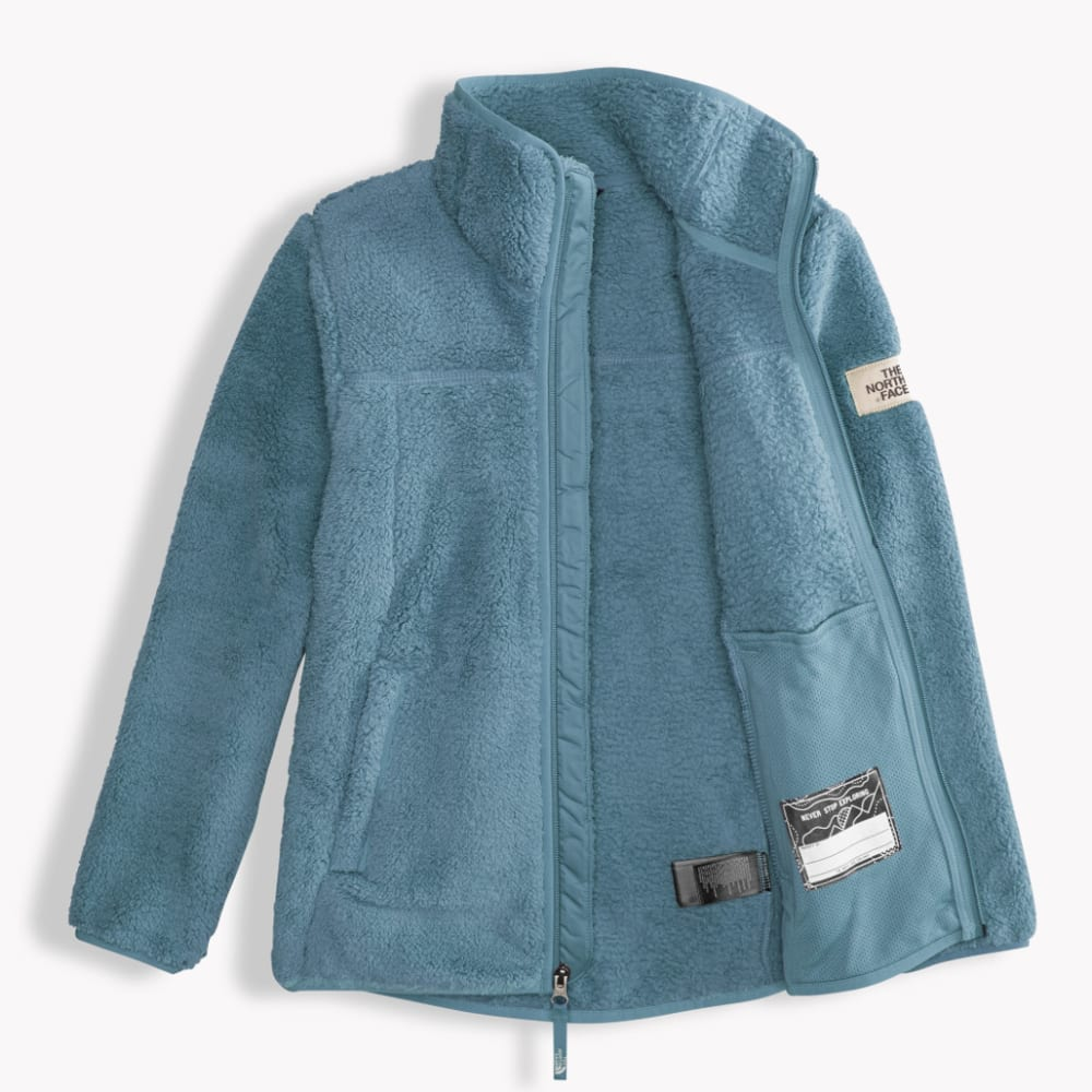THE NORTH FACE Girls' Campshire Full Zip Jacket - UBP-PROVINCIAL BLUE