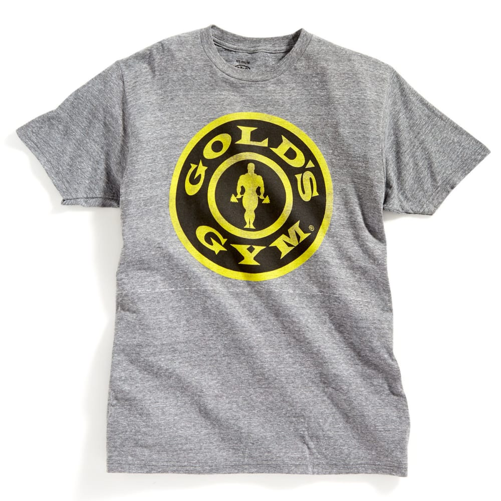 TEE LUV Guys' Gold's Gym Short-Sleeve Tee - GRAPHITE SNOW