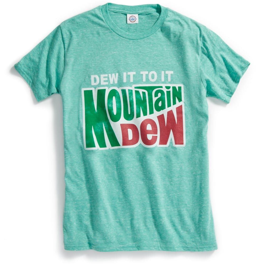 TEE LUV Guys' Mountain Dew Do It, To It Short-Sleeve Tee - GRN HTR