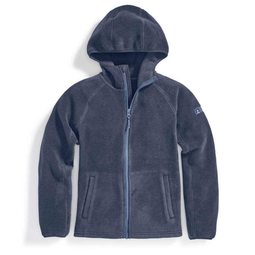EMS Boys' Classic 200 Fleece Hoodie - BLUE NIGHTS