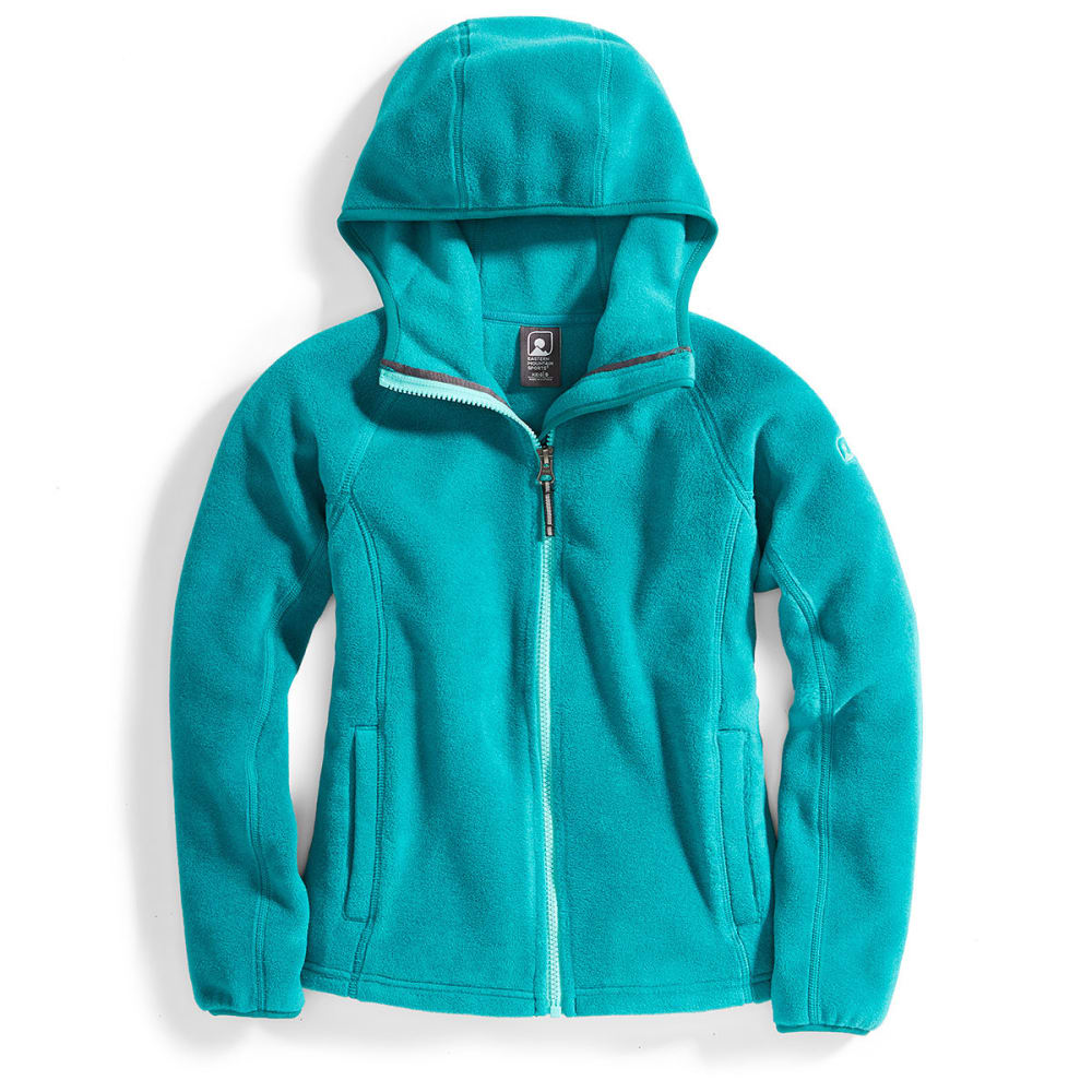 Ems(R) Girls Classic 200 Fleece Hoodie - Green, XS