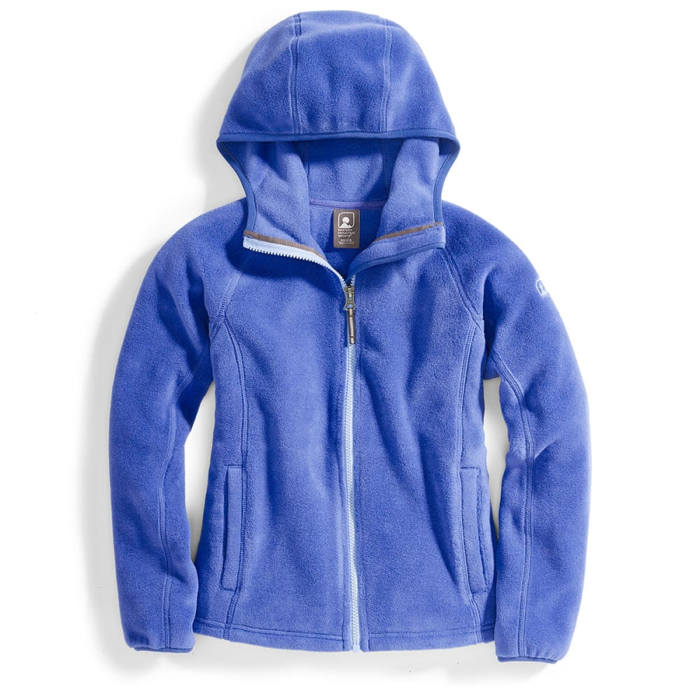 EMS® Girls' Classic 200 Fleece Hoodie - DEEP ULTRAMARINE