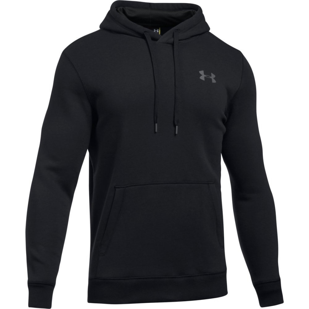 Under Armour Mens Rival Fitted Pullover Hoodie
