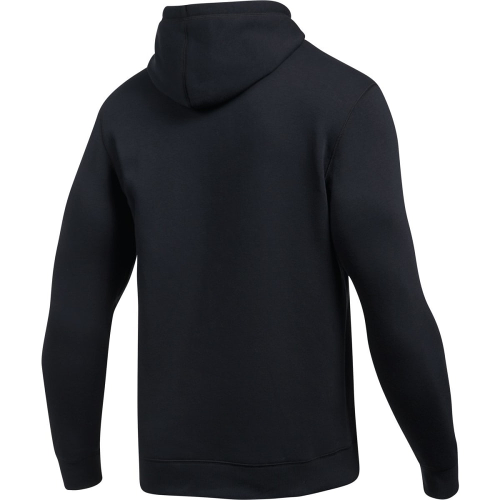 UNDER ARMOUR Men's Rival Fitted Graphic Pullover Hoodie - BLACK/GRAPHITE-001