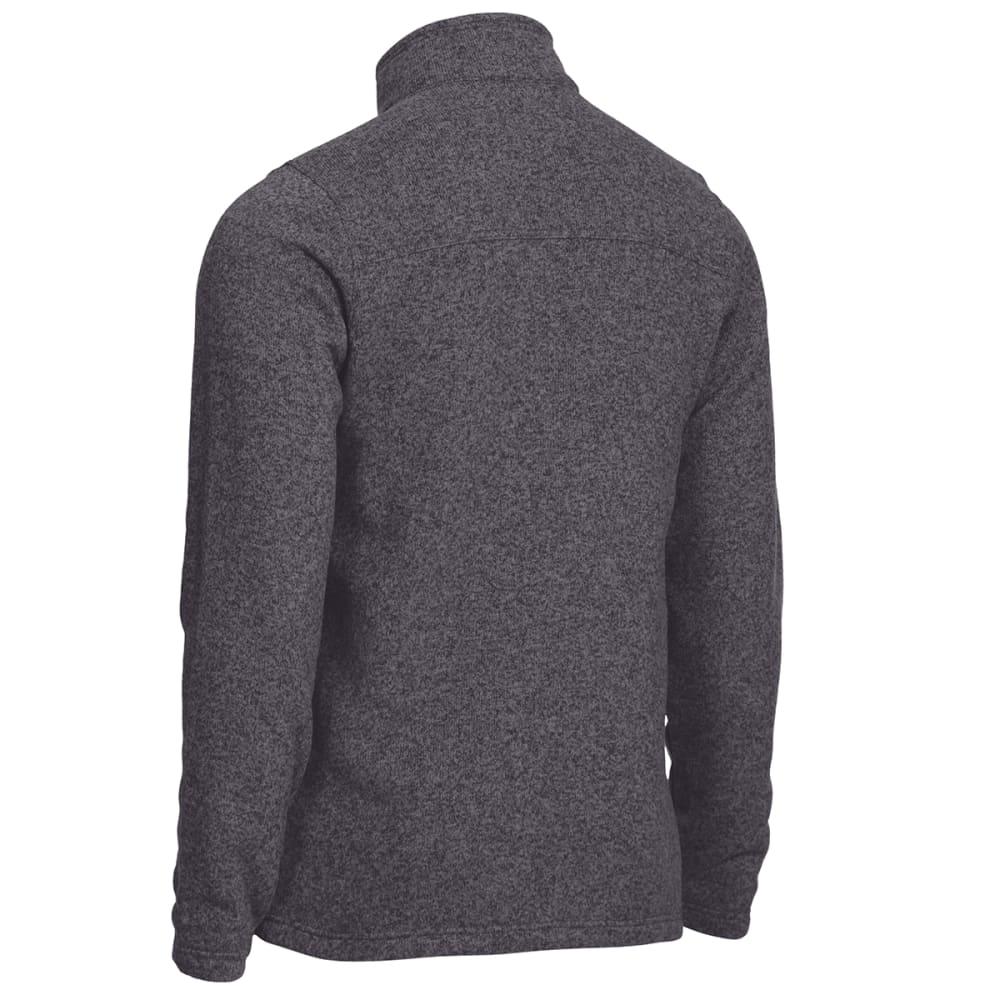 EMS Men's Roundtrip Quarter Zip Pullover - EBONY HEATHER