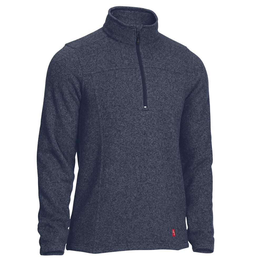 EMS Men's Roundtrip Quarter Zip Pullover - NAVY BLAZER HEATHER