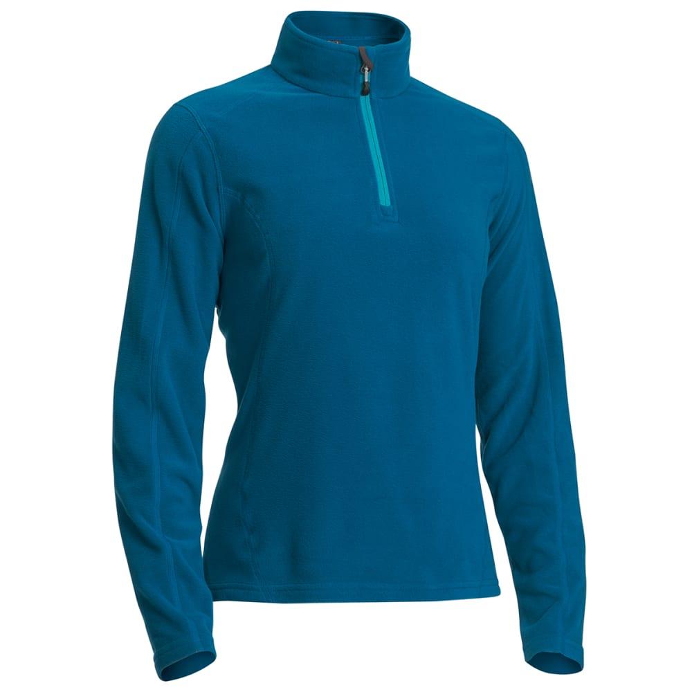 EMS® Women's Classic Micro Fleece ¼-Zip - DEEP LAGOON