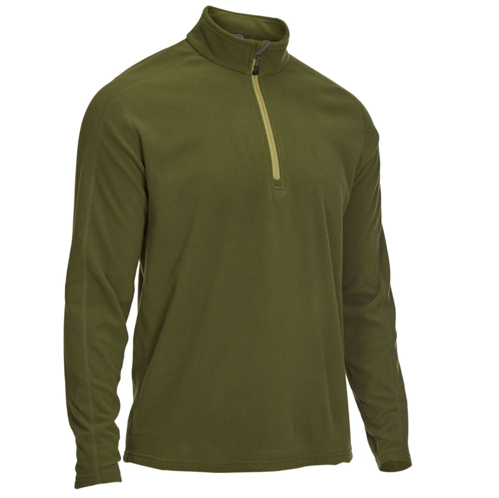 Ems(R) Men's Classic Micro Fleece  1/4-Zip - Green, S