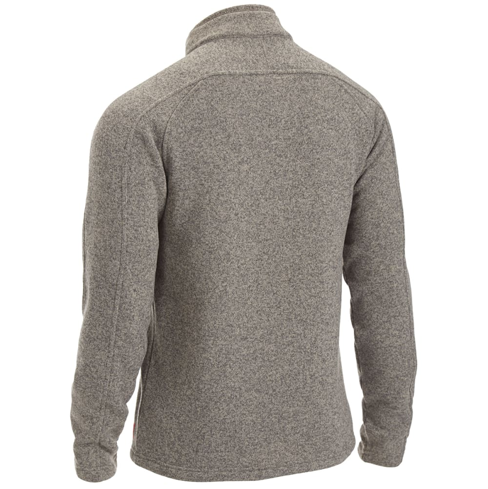 EMS Men's Roundtrip Buttoned Pullover - WALNUT HEATHER