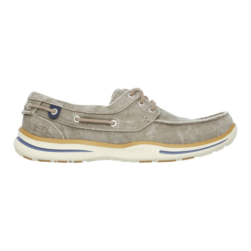 SKECHERS Men's Relaxed Fit: Elected -  Horizon Casual Shoes, Tan - TAN