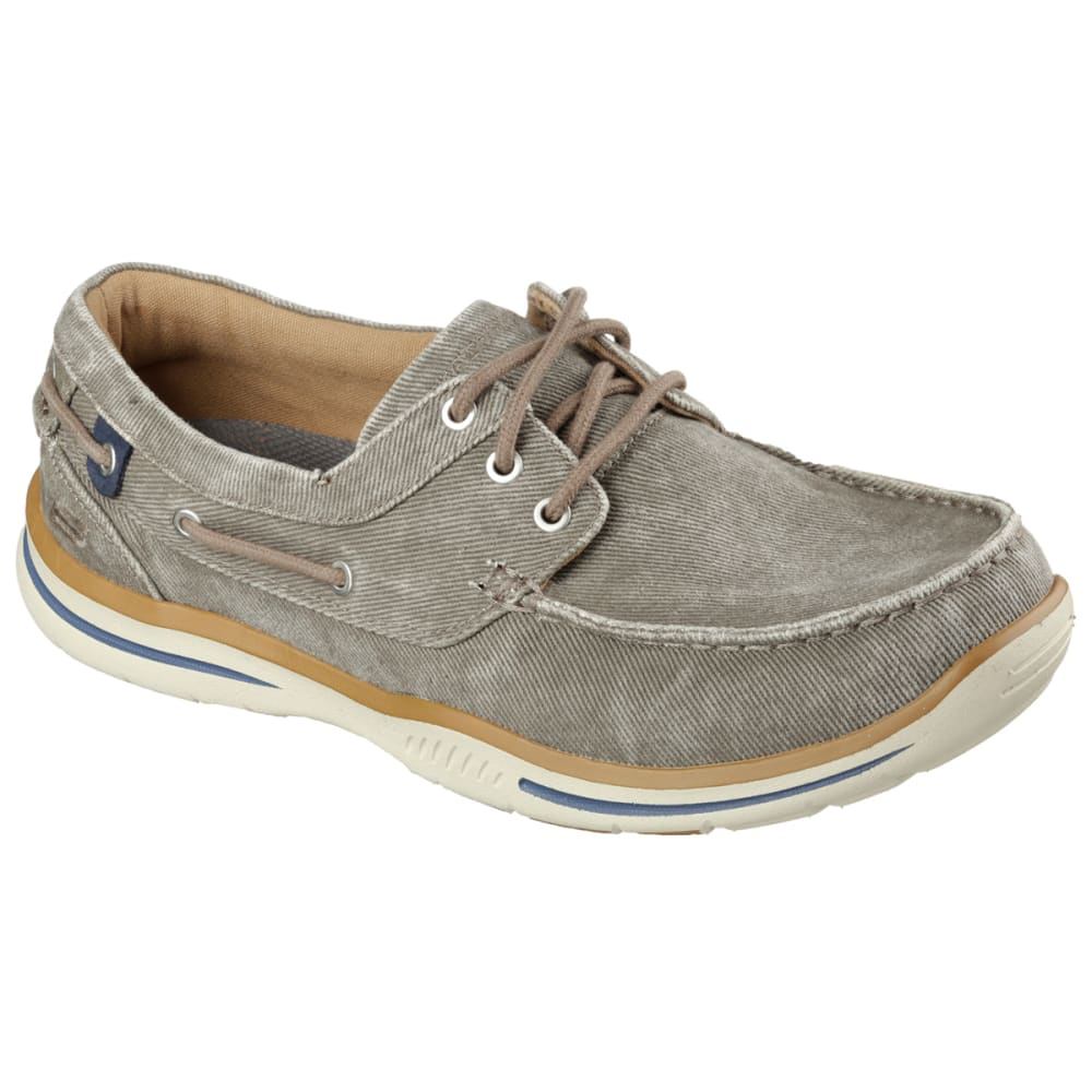 SKECHERS Men's Relaxed Fit: Elected – Horizon Casual Shoes, Tan - TAN