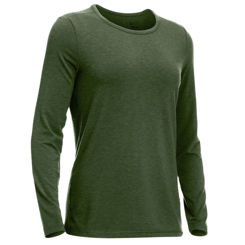 Ems(R) Women's Techwick(R) Journey Long-Sleeve Top - Green, XS