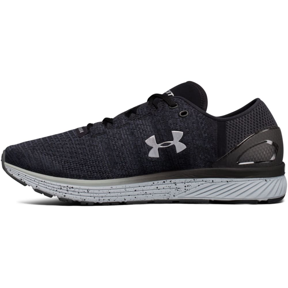 UNDER ARMOUR Men's Charged Bandit 3 Running Shoes, Stealth/Black - STEALTH GREY - 008