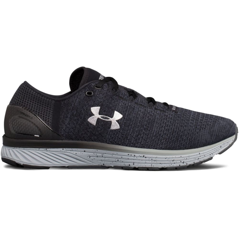 Under Armour Men's Charged Bandit 3 Running Shoes, Stealth/black