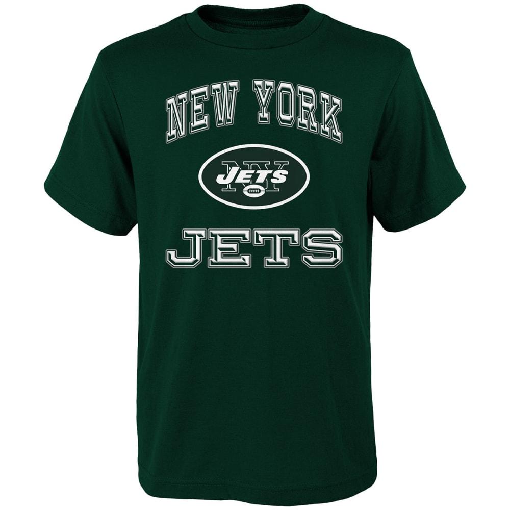 NEW YORK JETS Boys' Gridiron Hero Short-Sleeve Tee - GREEN