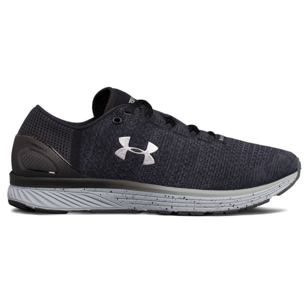 UNDER ARMOUR Men's Charged Bandit 3 Running Shoes, Stealth/Black, Wide - STEALTH GREY