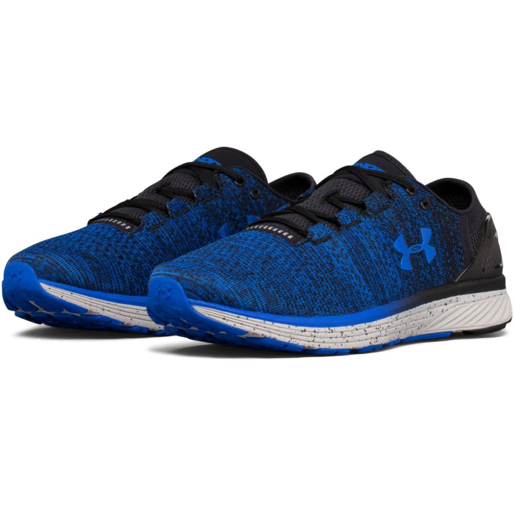 UNDER ARMOUR Men's Charged Bandit 3 Running Shoes, Ultra Blue/Black - ULTRA BLUE