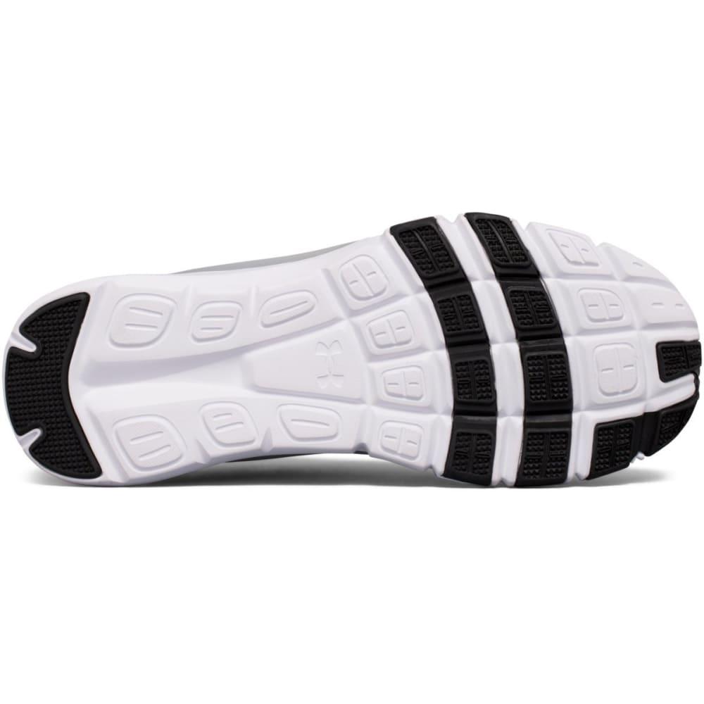 UNDER ARMOUR Men's Strive 7 Cross-Training Shoes, Black/White/Steel, Wide - BLACK
