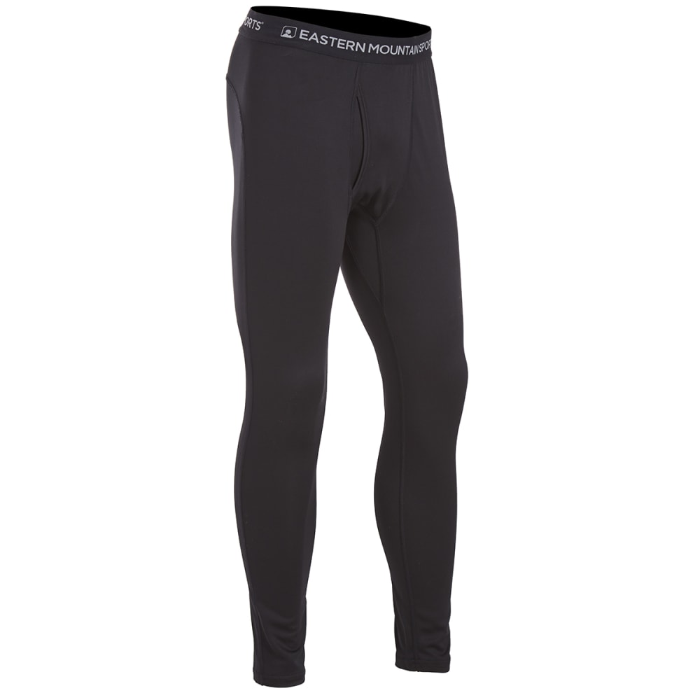 Ems(R) Men's Techwick(R) Lightweight Base Layer Bottoms - Black, S