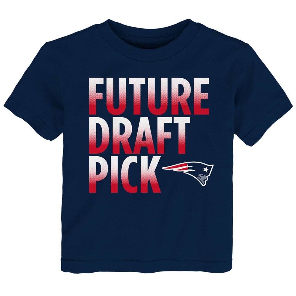 NEW ENGLAND PATRIOTS Infant Boys' Future Draft Pick Short-Sleeve Tee - NAVY