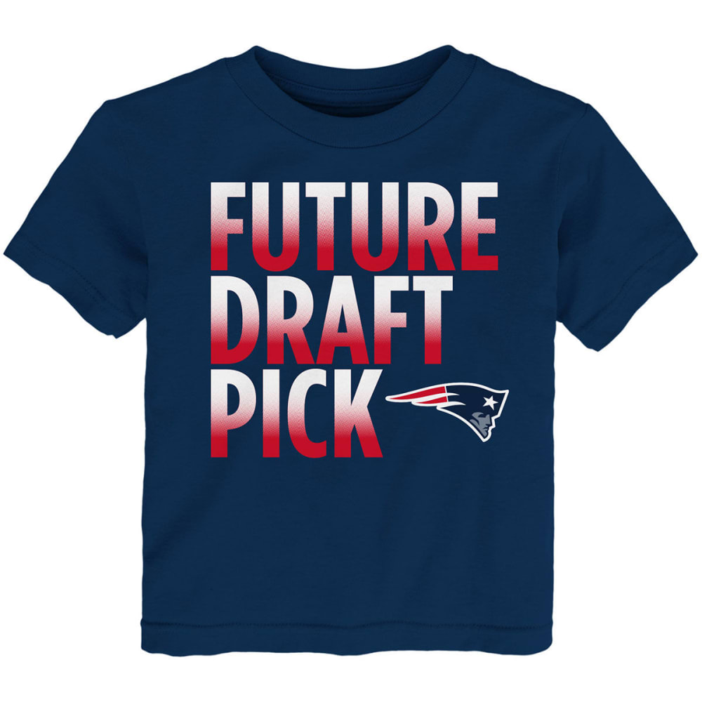 NEW ENGLAND PATRIOTS Toddler Boys' Future Draft Pick Short-Sleeve Tee - NAVY