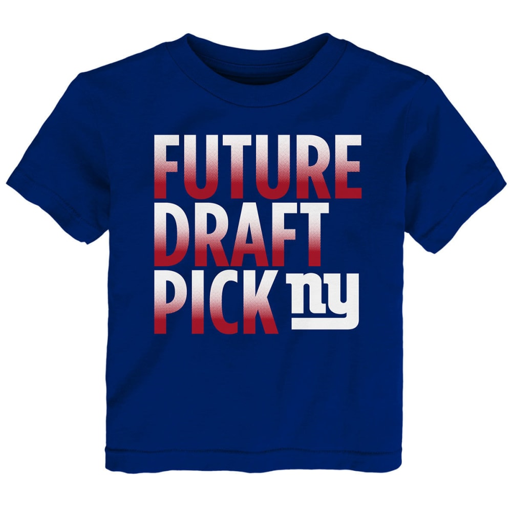 NEW YORK GIANTS Infant Boys' Future Draft Pick Short-Sleeve Tee - ROYAL BLUE
