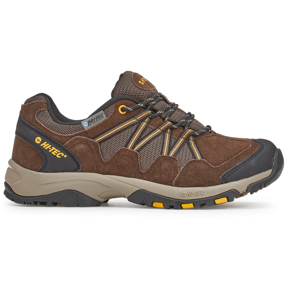HI-TEC Men's Dexter Low Waterproof Hiking Shoes - CHOCOLATE