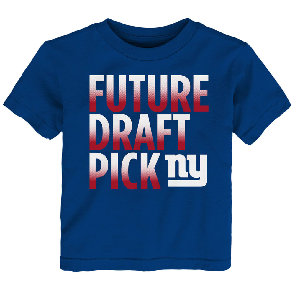 NEW YORK GIANTS Toddler Boys' Future Draft Pick Short-Sleeve Tee 4T