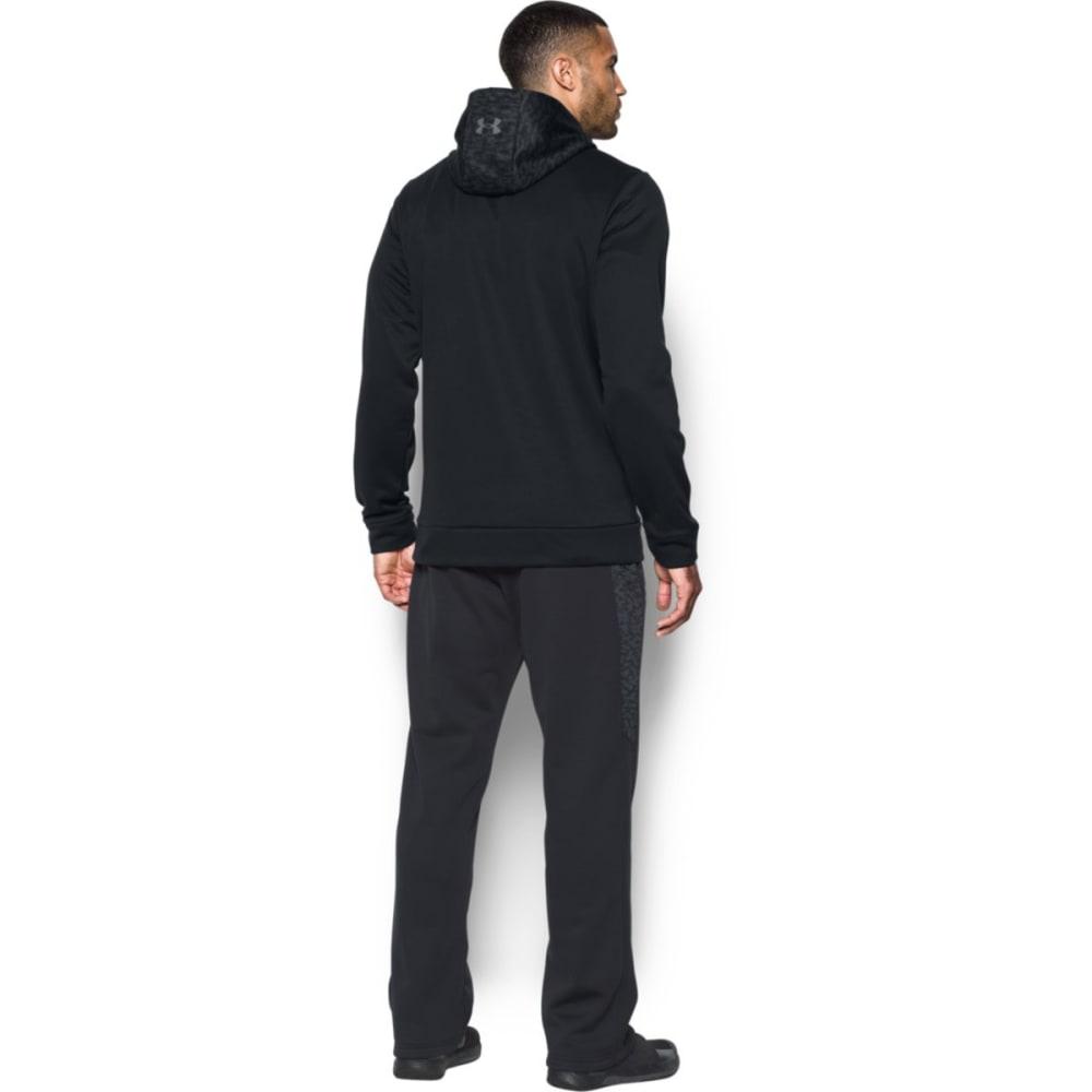 UNDER ARMOUR Men's UA Storm Armour® Fleece Digi Texture Pullover Hoodie - BLACK/GRAPHITE-001