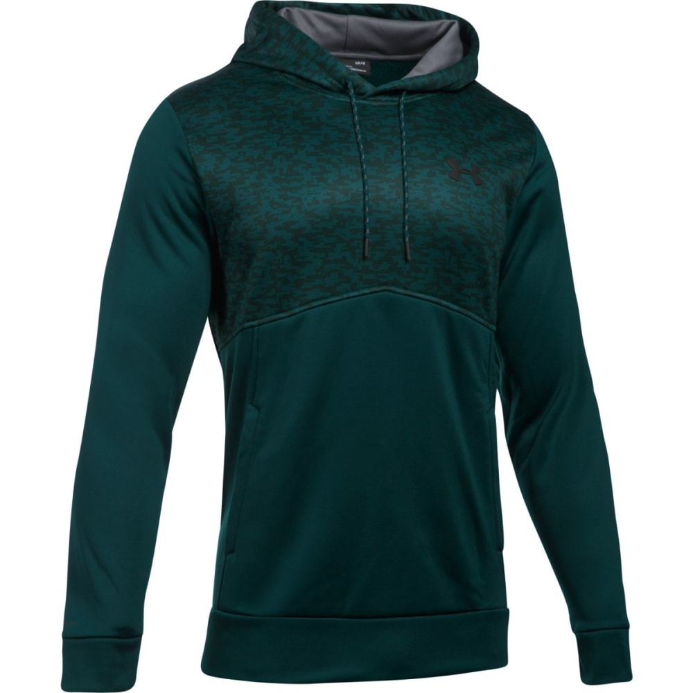 UNDER ARMOUR Men's UA Storm Armour Fleece Digi Texture Pullover Hoodie S