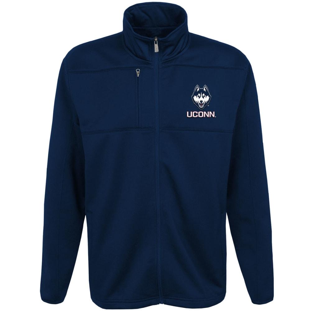 UCONN Big Boys' Superior Bonded Fleece Full-Zip Jacket - NAVY