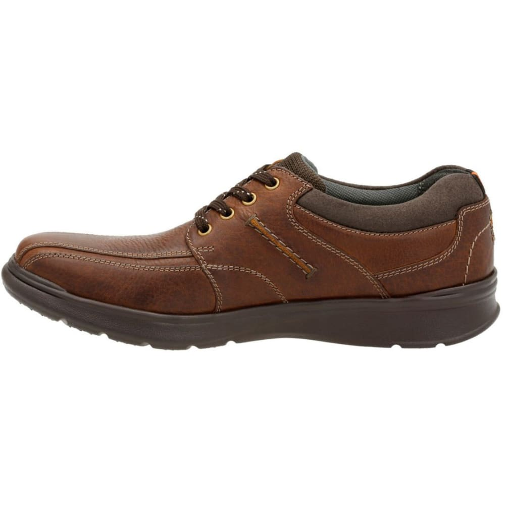 CLARKS Men's Cotrell Walk Oxford Shoes, Wide - BROWN