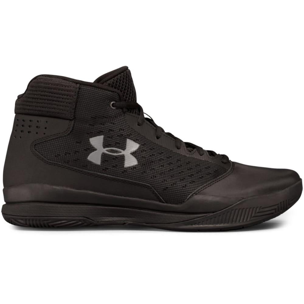 UNDER ARMOUR Men's UA Jet 2017 Basketball Shoes, Black/Graphite - BLACK
