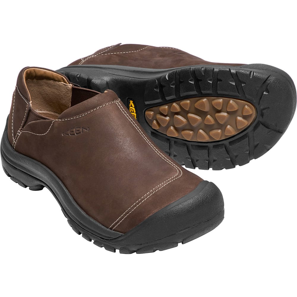 KEEN Men's Ashland Casual Shoes, Chocolate Brown - CHOCOLATE BROWN