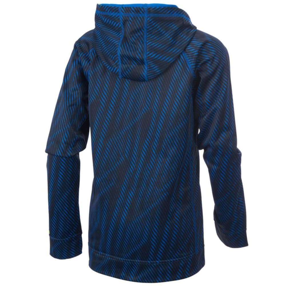 ADIDAS Boys' Helix Vibe Fleece Pullover Sweatshirt - BLUE-AB20