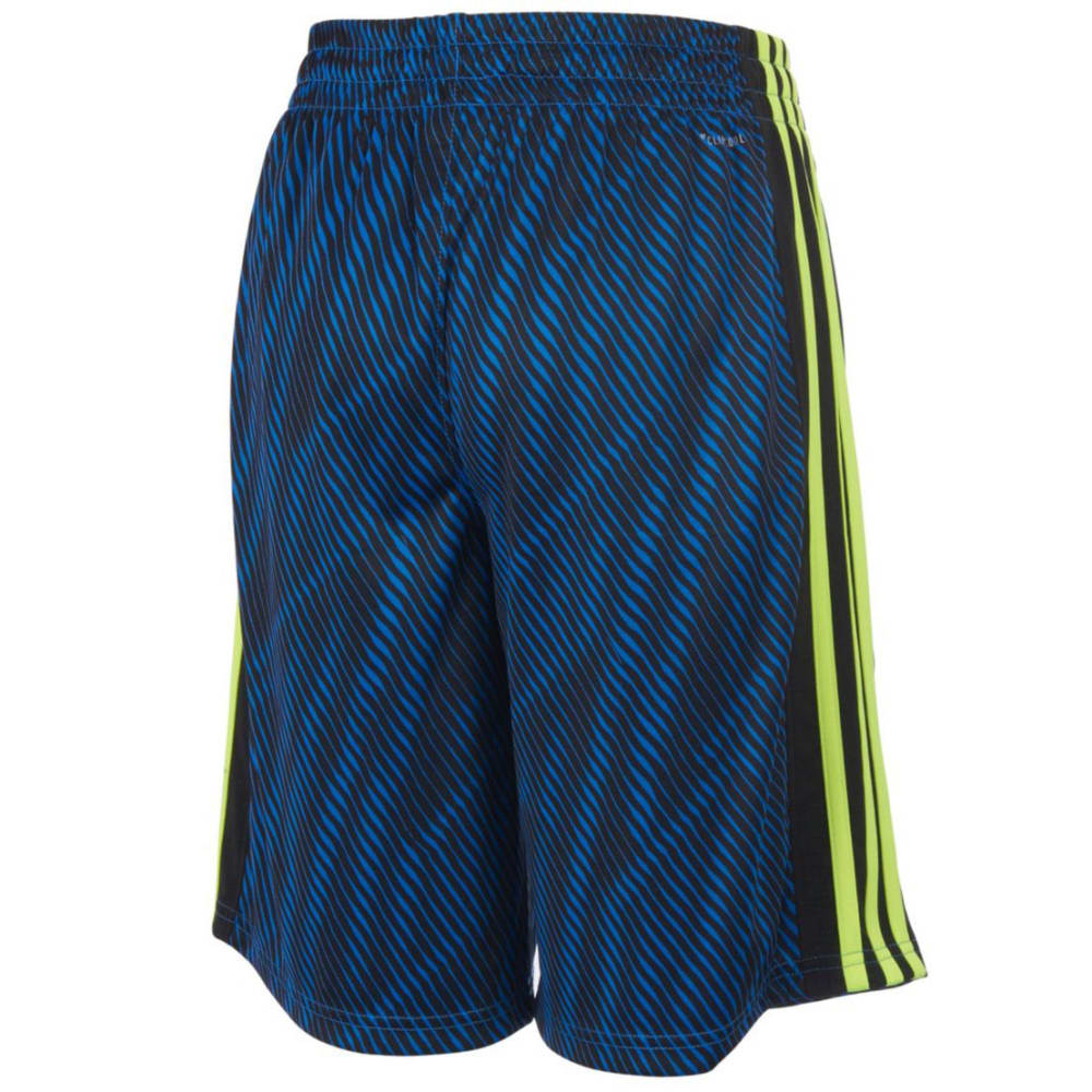 ADIDAS Boys' Influencer Shorts - BLUE-AB20