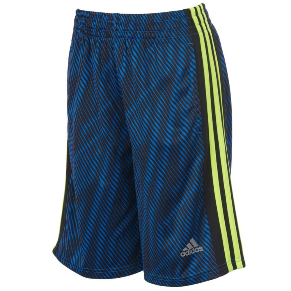 ADIDAS Boys' Influencer Shorts - BLUE-AB20