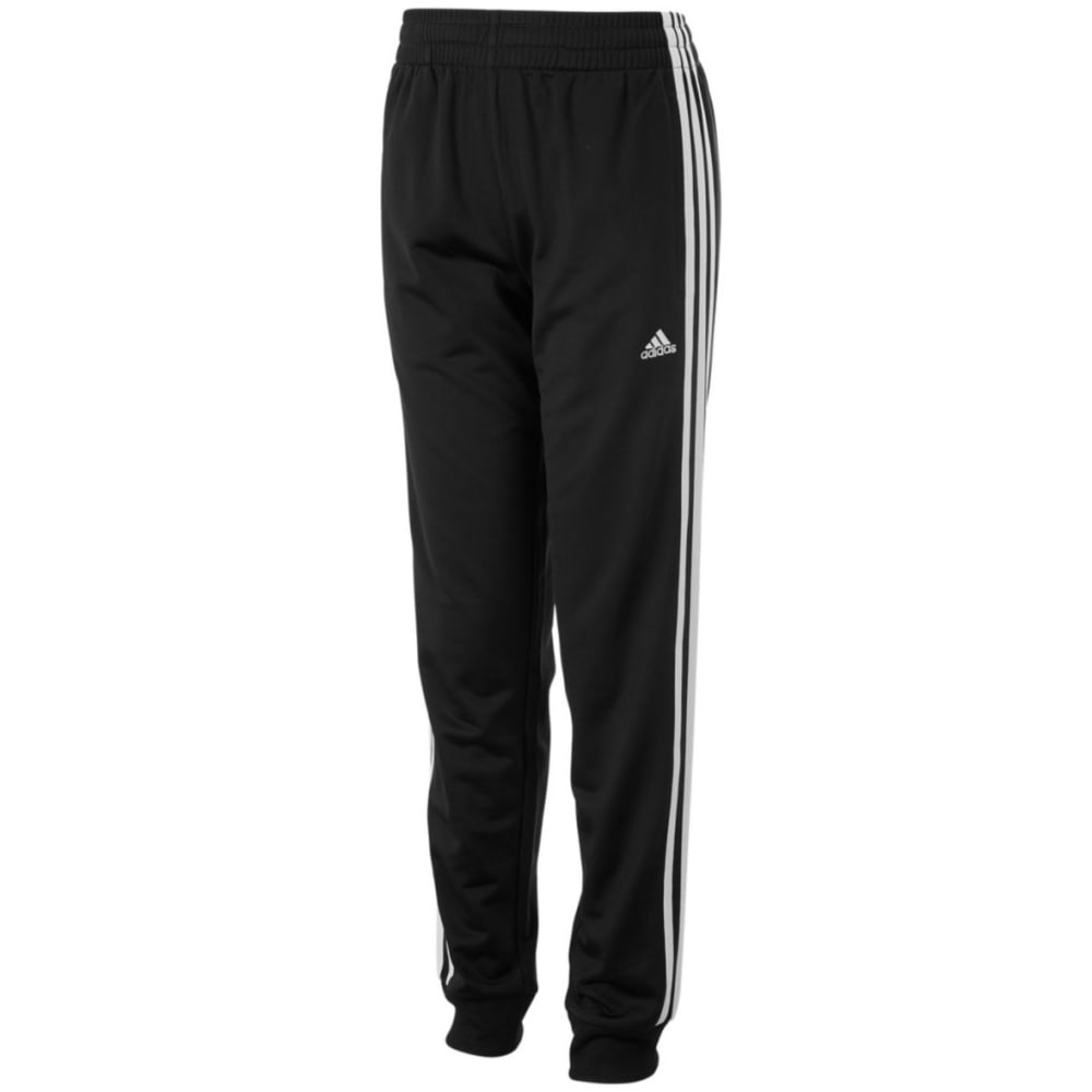 ADIDAS Boys' Iconic Tricot Jogger Pants - BLACK-AK01