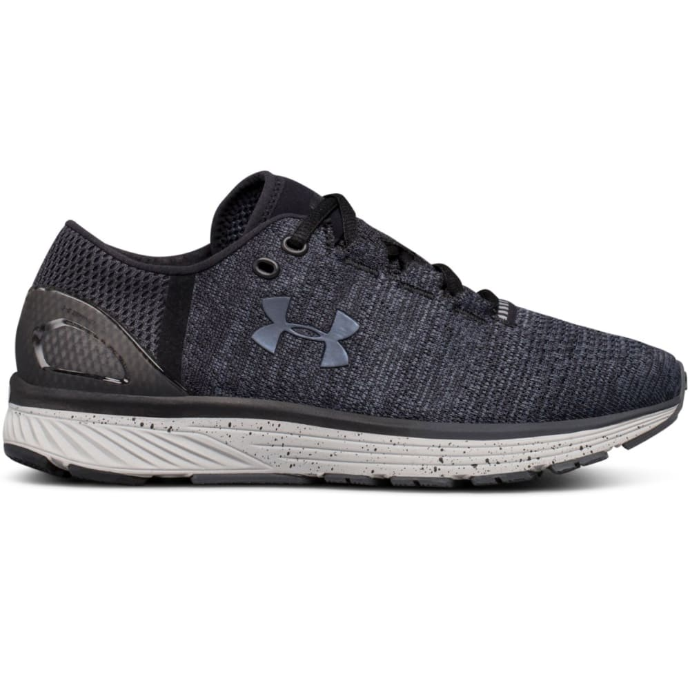 UNDER ARMOUR Women's Charged Bandit 3 Running Shoes, Wide - BLACK