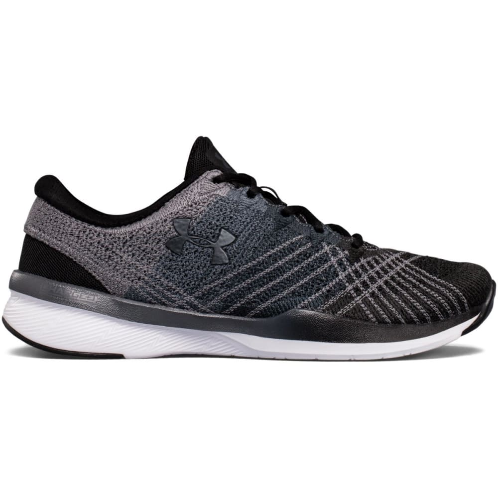 UNDER ARMOUR Women's Threadborne Push Cross Training Shoes, Black/Steel - BLACK
